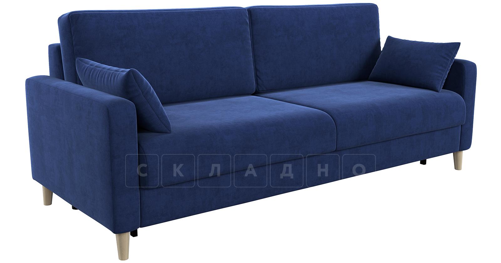Диван еврокнижка Дарвин темно-синий фото 2   интернет-магазин Складно
