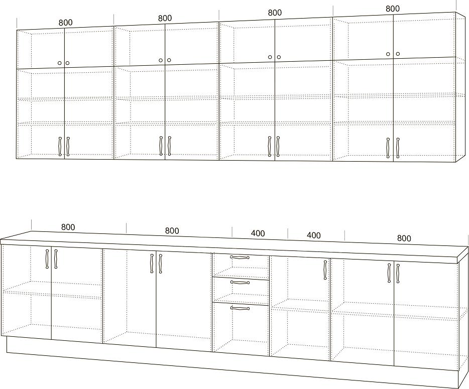 Кухонный гарнитур Массив с островом фото 2 | интернет-магазин Складно
