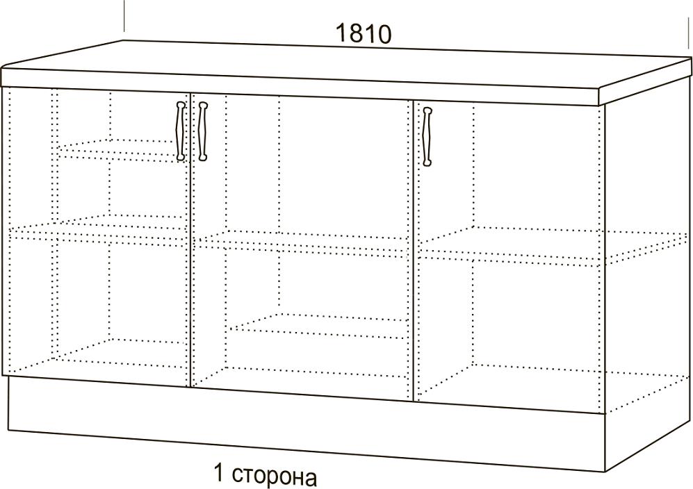 Кухонный гарнитур Массив с островом фото 3 | интернет-магазин Складно