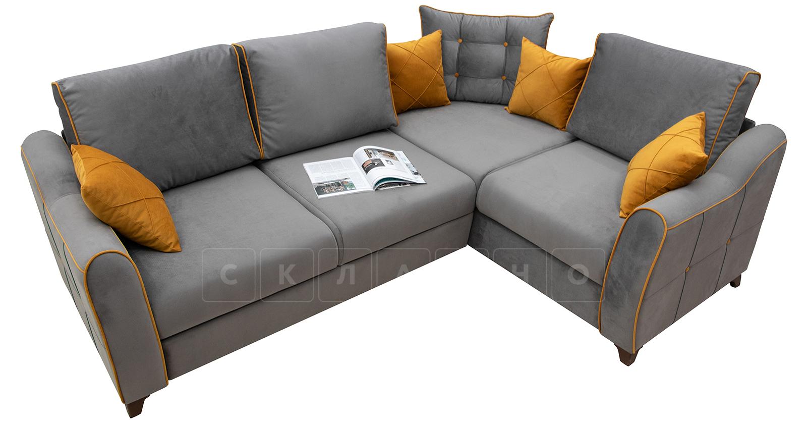 Диван-кровать угловой Флэтфорд кварцевый серый фото 2   интернет-магазин Складно