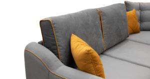 Диван-кровать угловой Флэтфорд кварцевый серый 59990 рублей, фото 13   интернет-магазин Складно