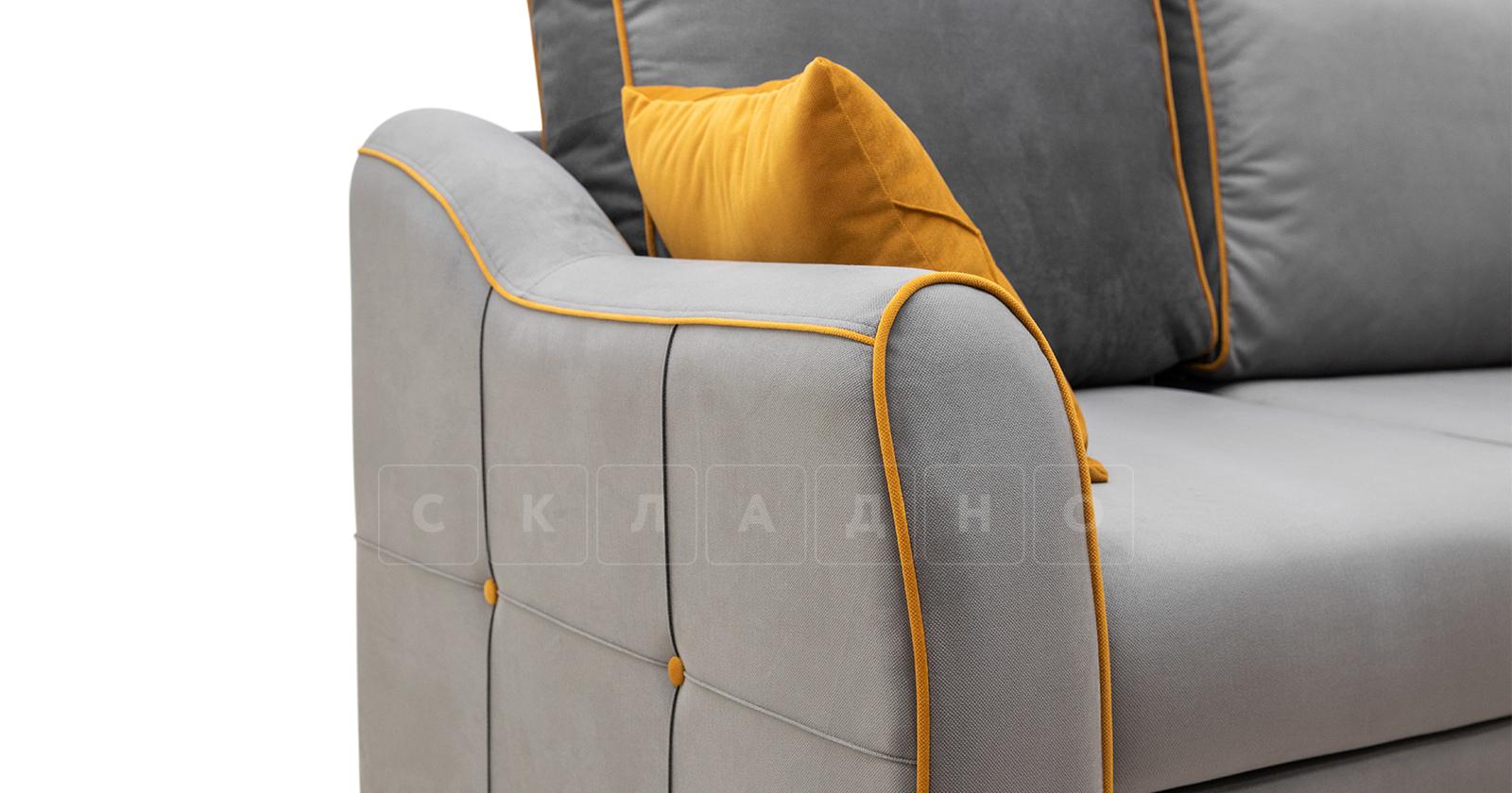 Диван-кровать угловой Флэтфорд кварцевый серый фото 15   интернет-магазин Складно