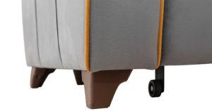Диван-кровать угловой Флэтфорд кварцевый серый 59990 рублей, фото 16   интернет-магазин Складно