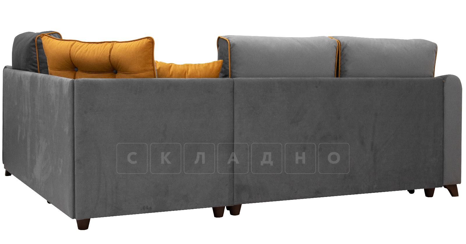Диван-кровать угловой Флэтфорд кварцевый серый фото 3   интернет-магазин Складно