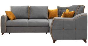 Диван-кровать угловой Флэтфорд кварцевый серый-15823 фото | интернет-магазин Складно
