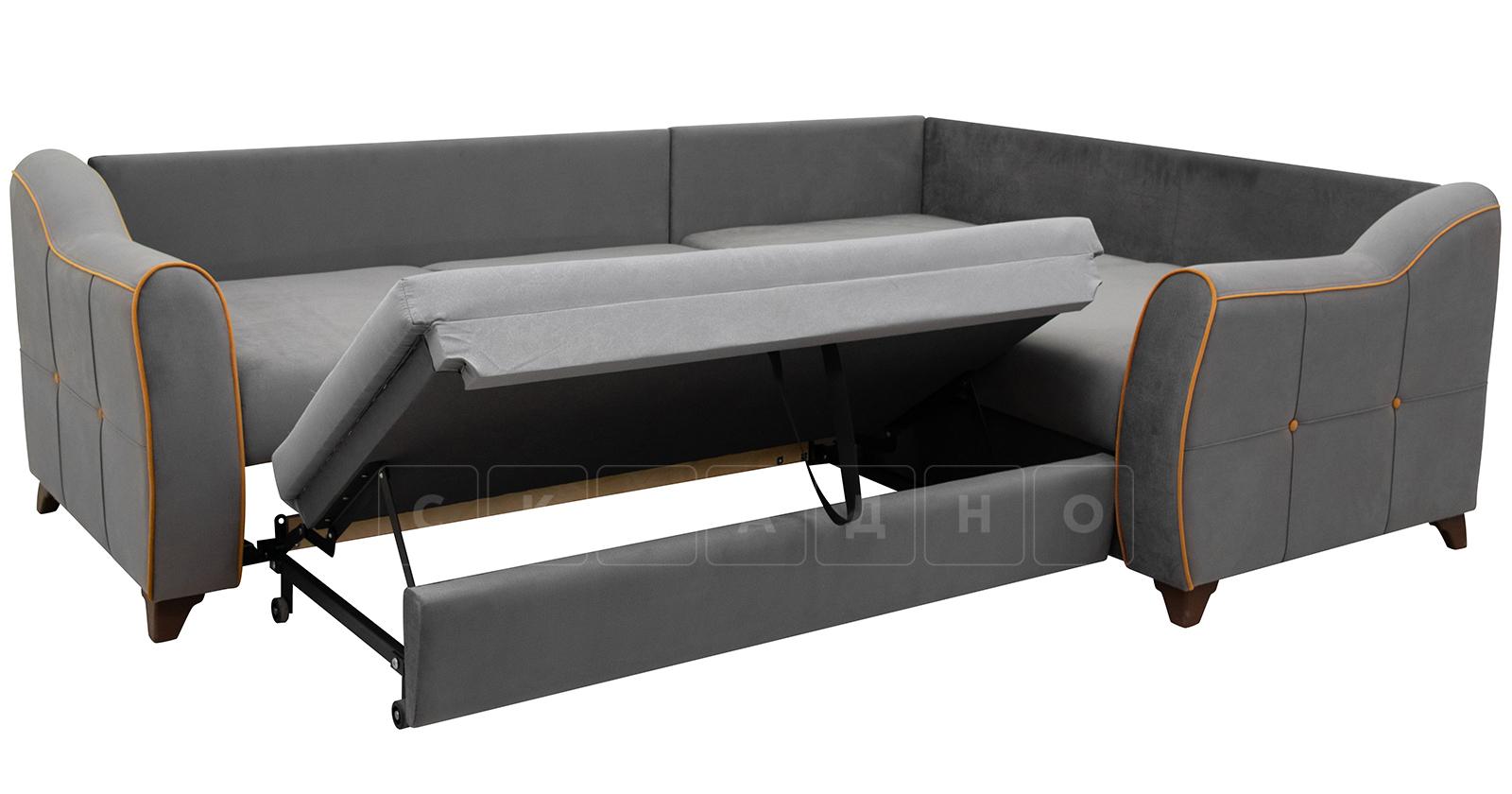 Диван-кровать угловой Флэтфорд кварцевый серый фото 5   интернет-магазин Складно