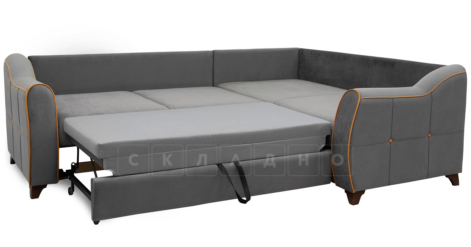 Диван-кровать угловой Флэтфорд кварцевый серый фото 6   интернет-магазин Складно