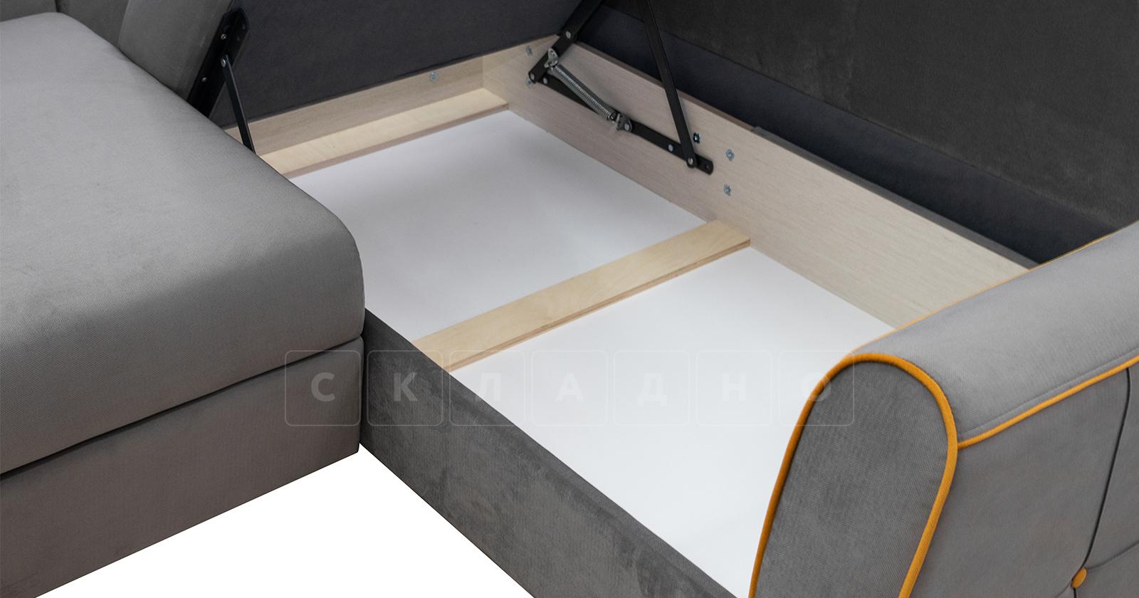 Диван-кровать угловой Флэтфорд кварцевый серый фото 7   интернет-магазин Складно