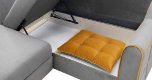 Диван-кровать угловой Флэтфорд кварцевый серый 59990 рублей, фото 8   интернет-магазин Складно