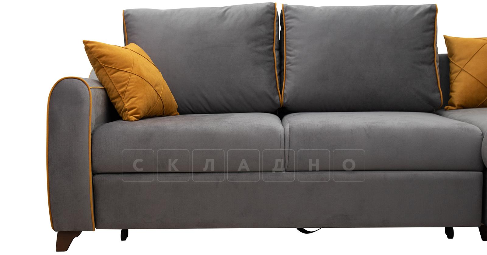 Диван-кровать угловой Флэтфорд кварцевый серый фото 9   интернет-магазин Складно