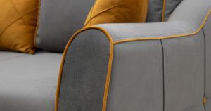 Диван-кровать угловой Флэтфорд кварцевый серый 59990 рублей, фото 10   интернет-магазин Складно