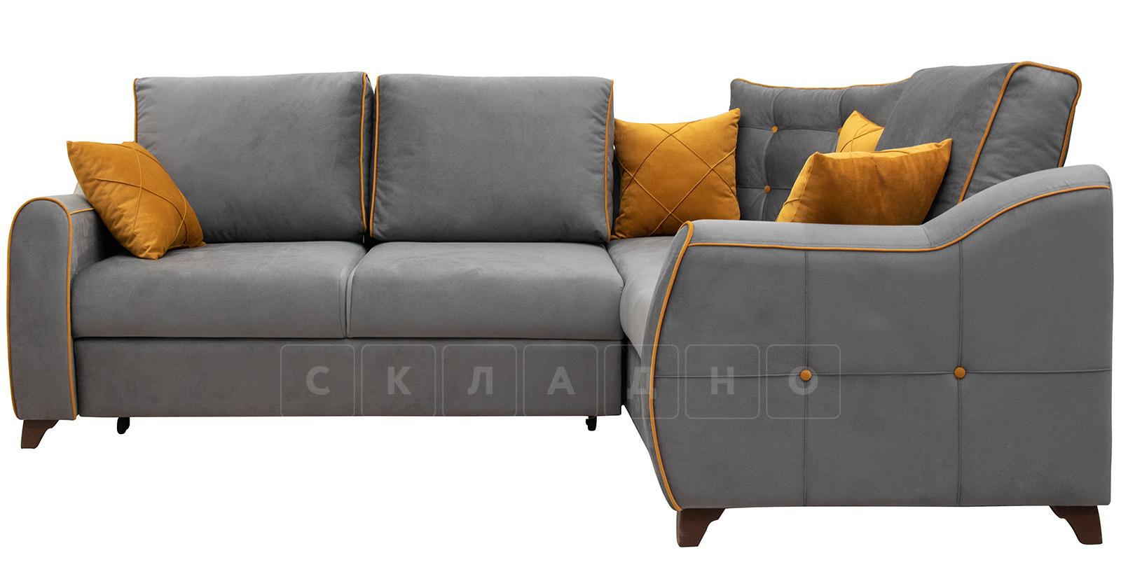 Диван-кровать угловой Флэтфорд кварцевый серый фото 1   интернет-магазин Складно