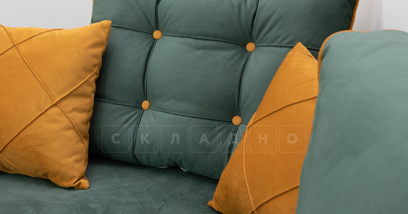 Диван-кровать угловой Флэтфорд нефритовый зеленый фото 11 | интернет-магазин Складно