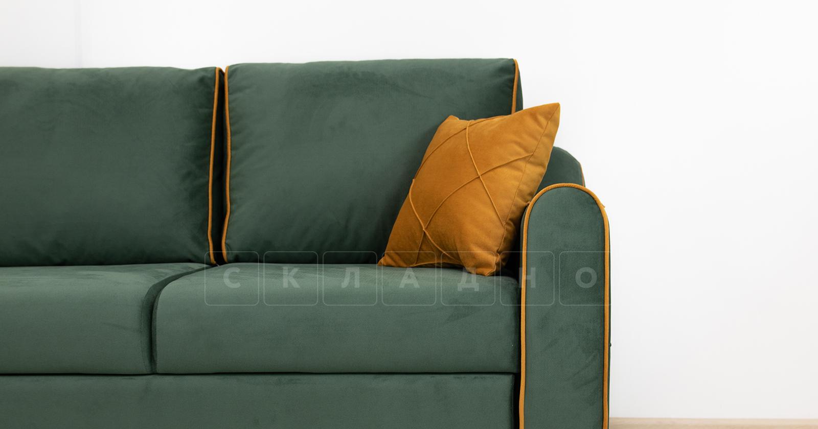 Диван-кровать угловой Флэтфорд нефритовый зеленый фото 12 | интернет-магазин Складно