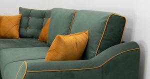 Диван-кровать угловой Флэтфорд нефритовый зеленый 59990 рублей, фото 14 | интернет-магазин Складно