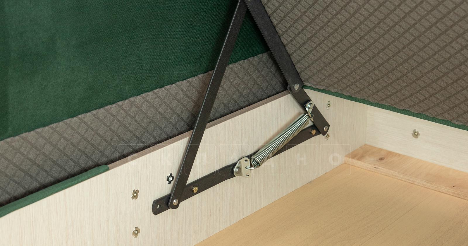 Диван-кровать угловой Флэтфорд нефритовый зеленый фото 15 | интернет-магазин Складно