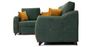 Диван-кровать угловой Флэтфорд нефритовый зеленый 59990 рублей, фото 3 | интернет-магазин Складно