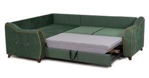 Диван-кровать угловой Флэтфорд нефритовый зеленый 59990 рублей, фото 5 | интернет-магазин Складно