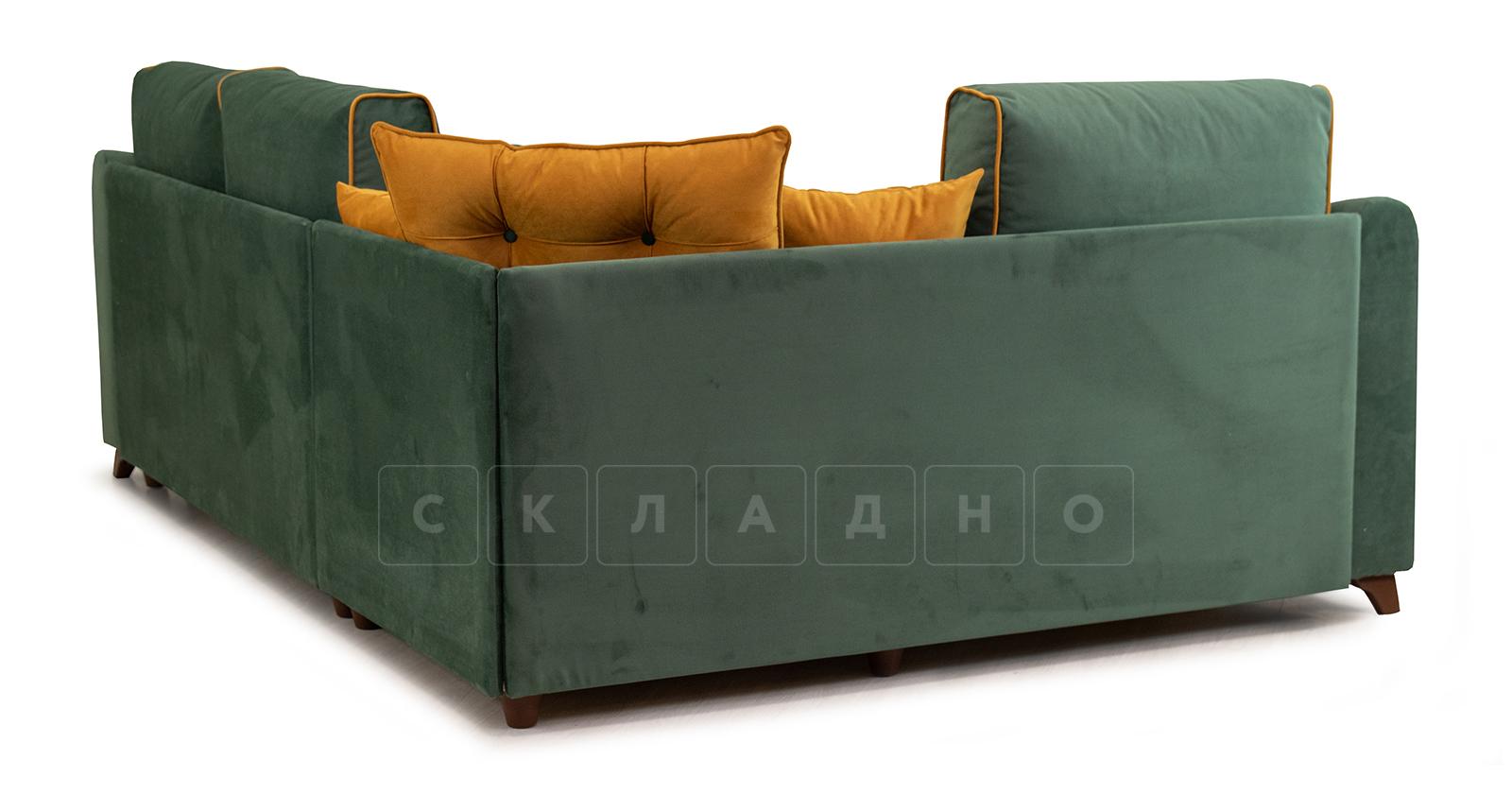 Диван-кровать угловой Флэтфорд нефритовый зеленый фото 6 | интернет-магазин Складно