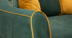 Диван-кровать угловой Флэтфорд нефритовый зеленый 59990 рублей, фото 8 | интернет-магазин Складно
