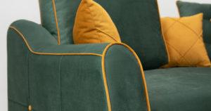 Диван-кровать угловой Флэтфорд нефритовый зеленый 59990 рублей, фото 10 | интернет-магазин Складно