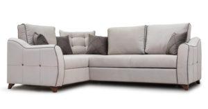 Диван-кровать угловой Флэтфорд серо-бежевый  63520  рублей, фото 1 | интернет-магазин Складно