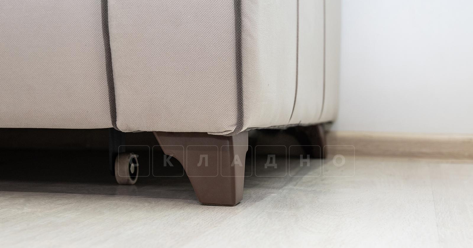 Диван-кровать угловой Флэтфорд серо-бежевый фото 13 | интернет-магазин Складно