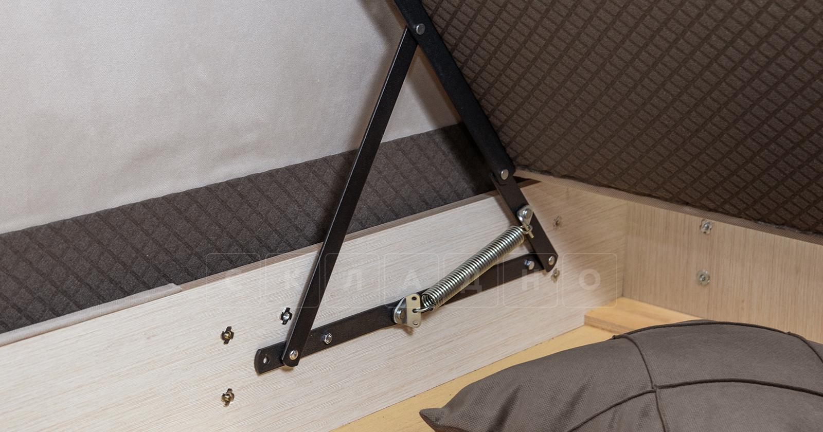 Диван-кровать угловой Флэтфорд серо-бежевый фото 15 | интернет-магазин Складно
