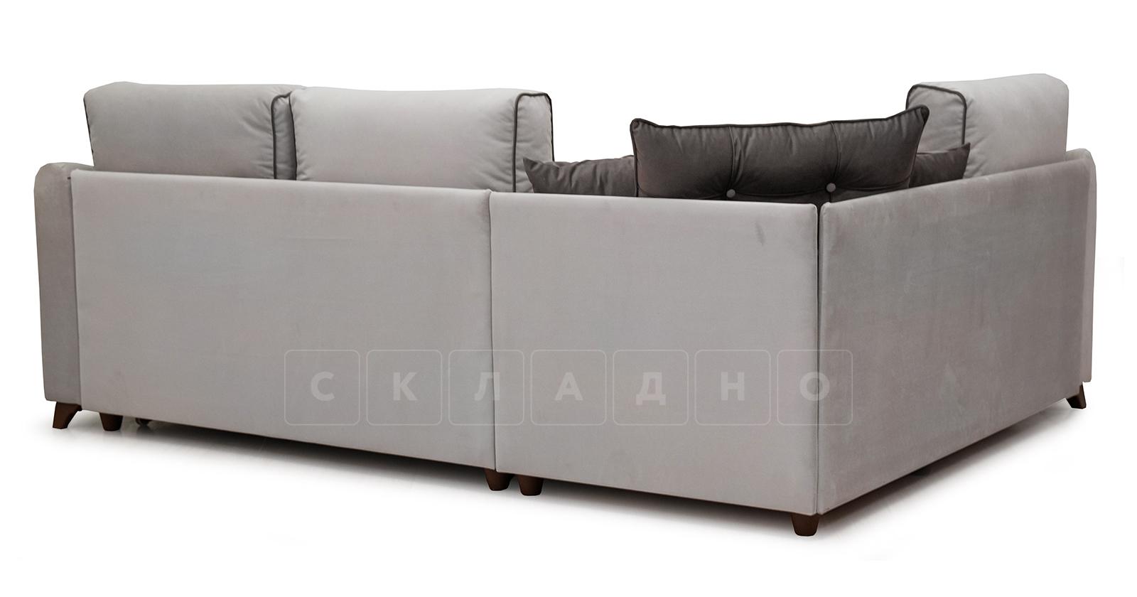 Диван-кровать угловой Флэтфорд серо-бежевый фото 4 | интернет-магазин Складно