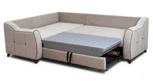 Диван-кровать угловой Флэтфорд серо-бежевый 63520 рублей, фото 5 | интернет-магазин Складно