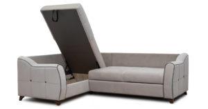 Диван-кровать угловой Флэтфорд серо-бежевый 63520 рублей, фото 6 | интернет-магазин Складно