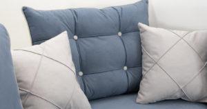 Диван-кровать угловой Флэтфорд серо-синий 63520 рублей, фото 11 | интернет-магазин Складно