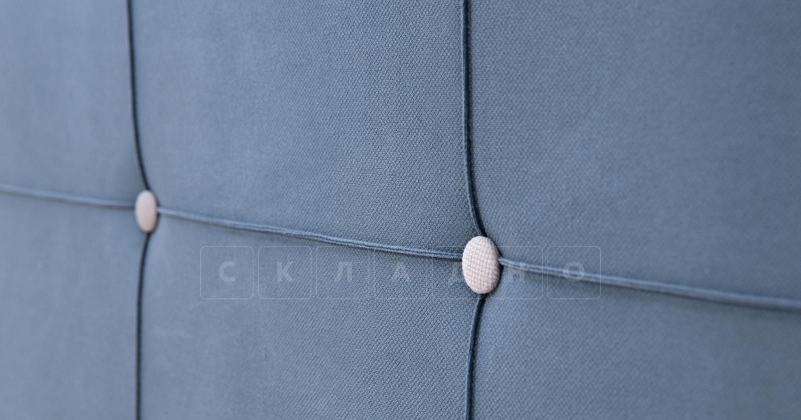 Диван-кровать угловой Флэтфорд серо-синий фото 12 | интернет-магазин Складно