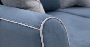 Диван-кровать угловой Флэтфорд серо-синий 63520 рублей, фото 13 | интернет-магазин Складно