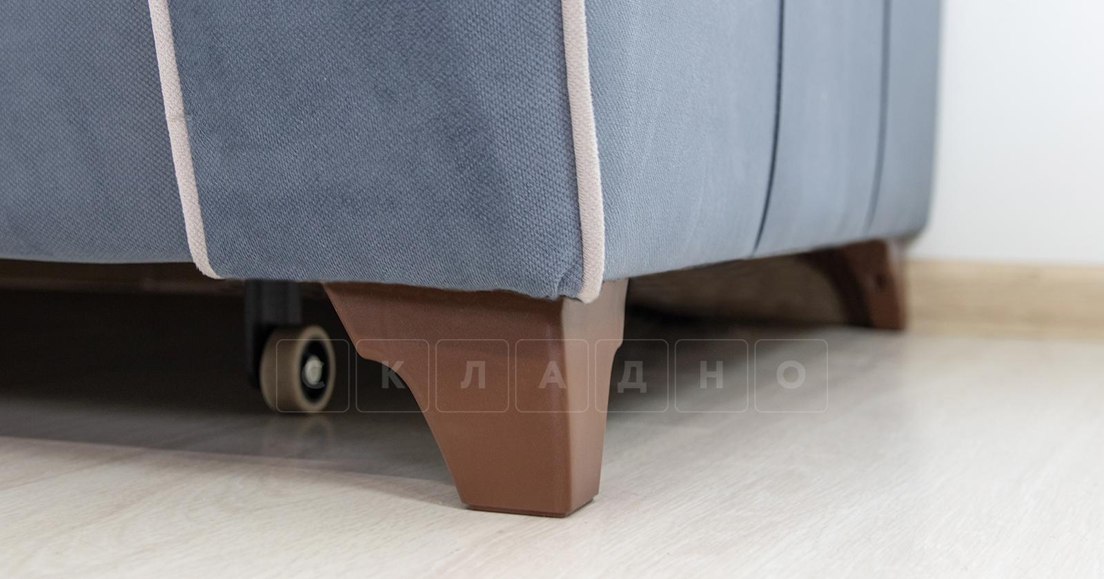 Диван-кровать угловой Флэтфорд серо-синий фото 14 | интернет-магазин Складно