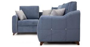 Диван-кровать угловой Флэтфорд серо-синий 63520 рублей, фото 3 | интернет-магазин Складно