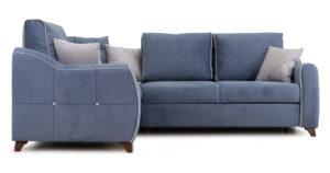 Диван-кровать угловой Флэтфорд серо-синий 63520 рублей, фото 2 | интернет-магазин Складно