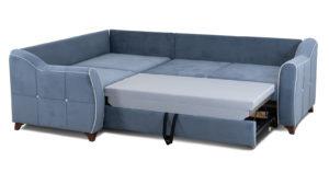 Диван-кровать угловой Флэтфорд серо-синий 63520 рублей, фото 6 | интернет-магазин Складно