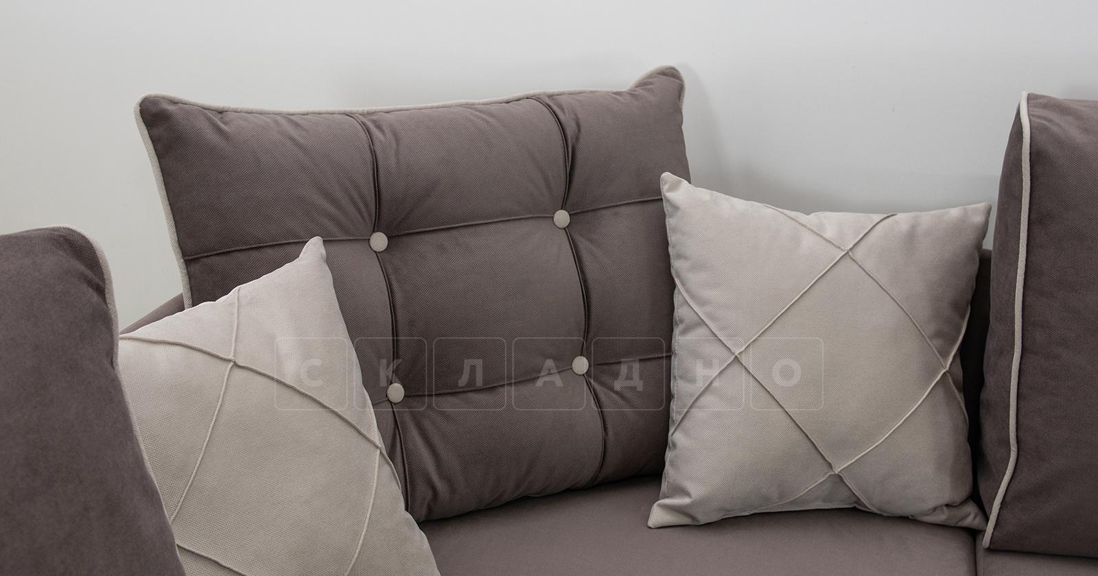 Диван-кровать угловой Флэтфорд шоколад фото 12 | интернет-магазин Складно