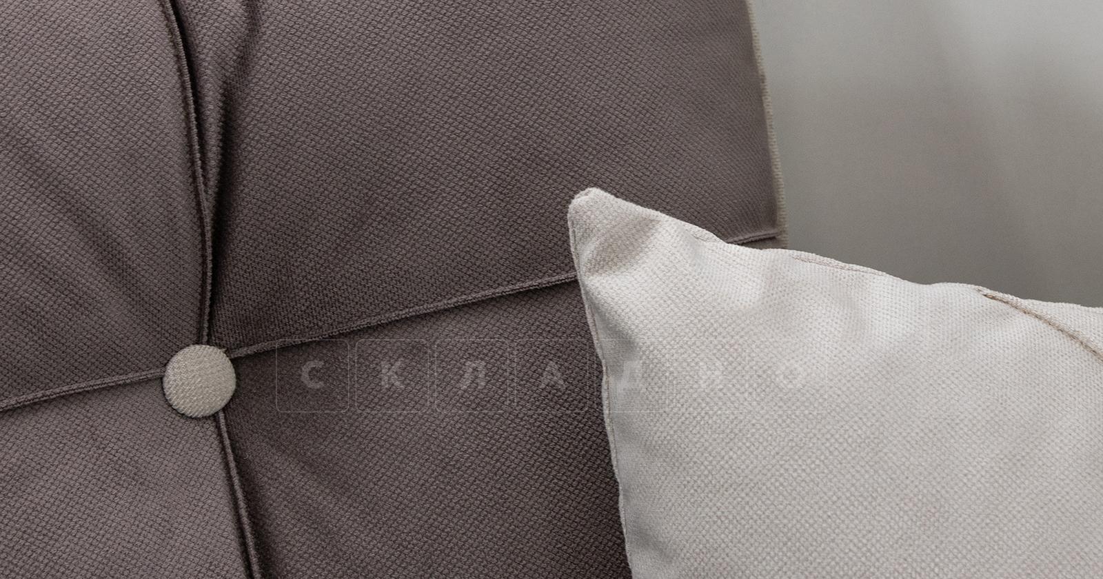 Диван-кровать угловой Флэтфорд шоколад фото 14 | интернет-магазин Складно