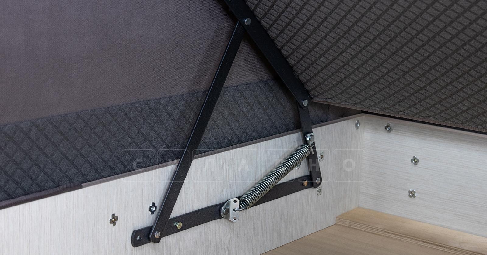 Диван-кровать угловой Флэтфорд шоколад фото 16 | интернет-магазин Складно