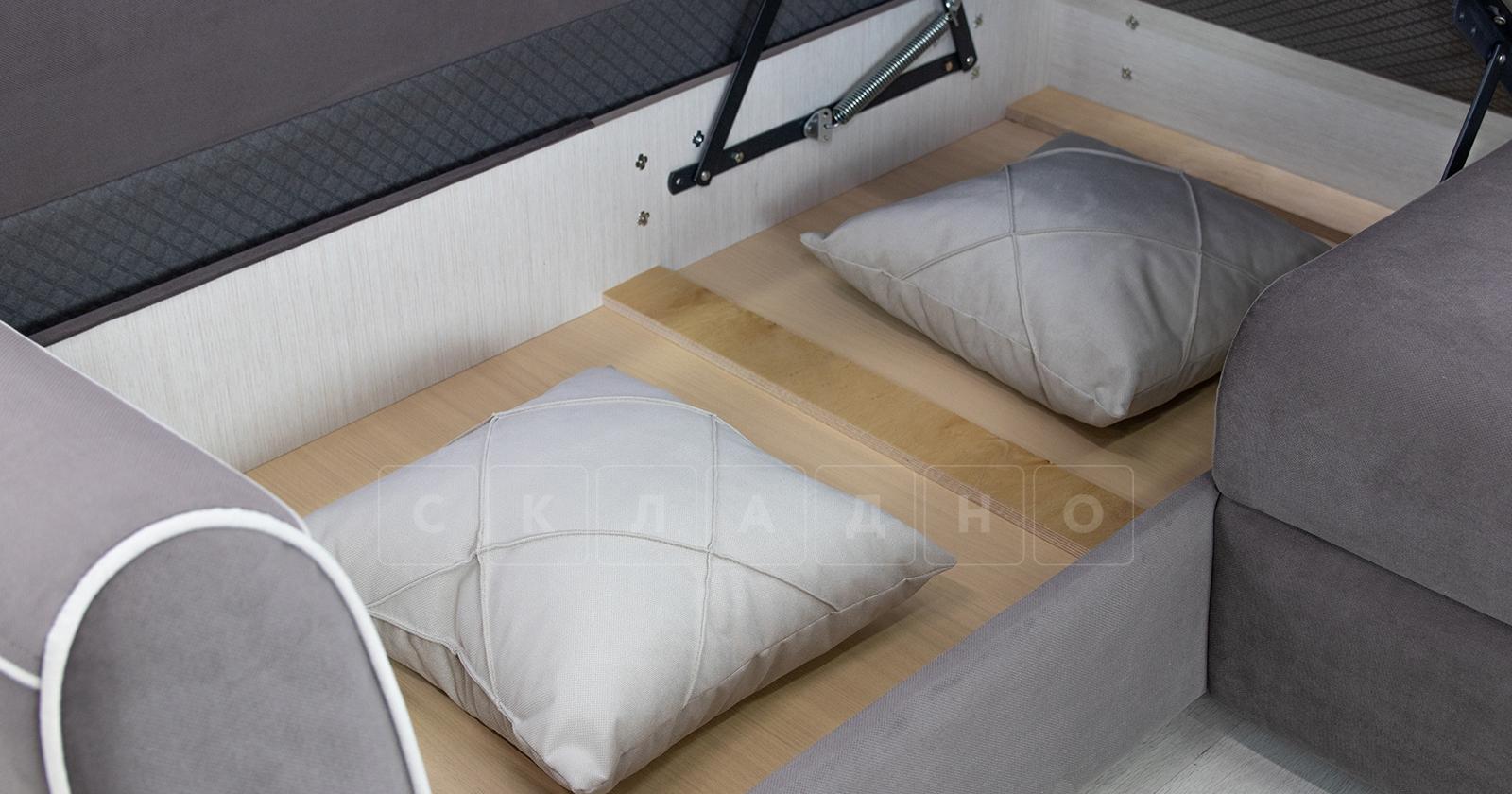 Диван-кровать угловой Флэтфорд шоколад фото 17 | интернет-магазин Складно
