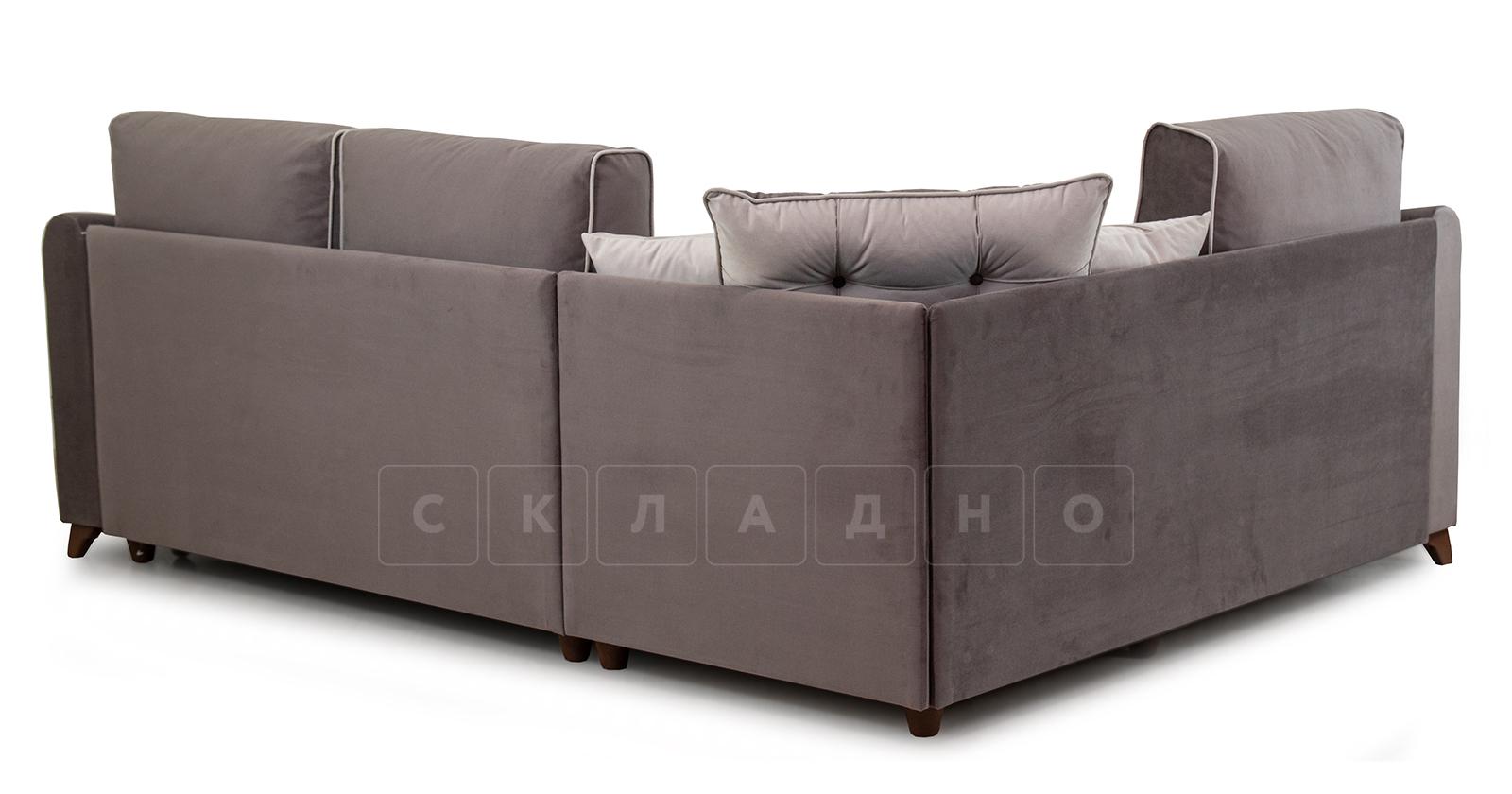 Диван-кровать угловой Флэтфорд шоколад фото 5 | интернет-магазин Складно
