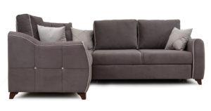 Диван-кровать угловой Флэтфорд шоколад 59990 рублей, фото 2 | интернет-магазин Складно