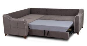 Диван-кровать угловой Флэтфорд шоколад 59990 рублей, фото 6 | интернет-магазин Складно