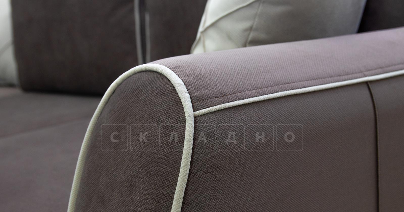 Диван-кровать угловой Флэтфорд шоколад фото 8 | интернет-магазин Складно