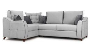 Диван-кровать угловой Флэтфорд светло-серый-15875 фото | интернет-магазин Складно