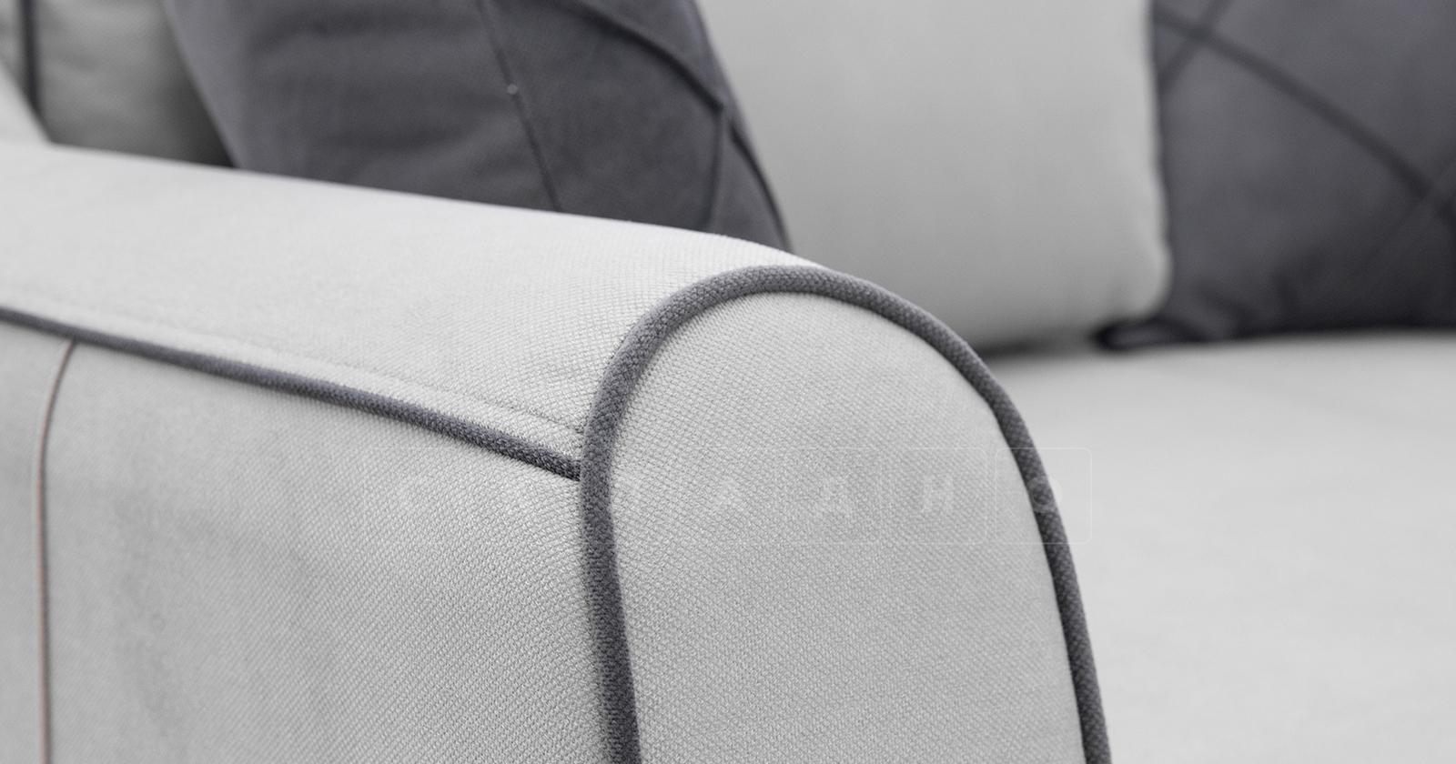 Диван-кровать угловой Флэтфорд светло-серый фото 11 | интернет-магазин Складно