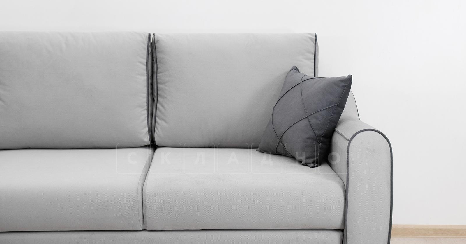 Диван-кровать угловой Флэтфорд светло-серый фото 12 | интернет-магазин Складно