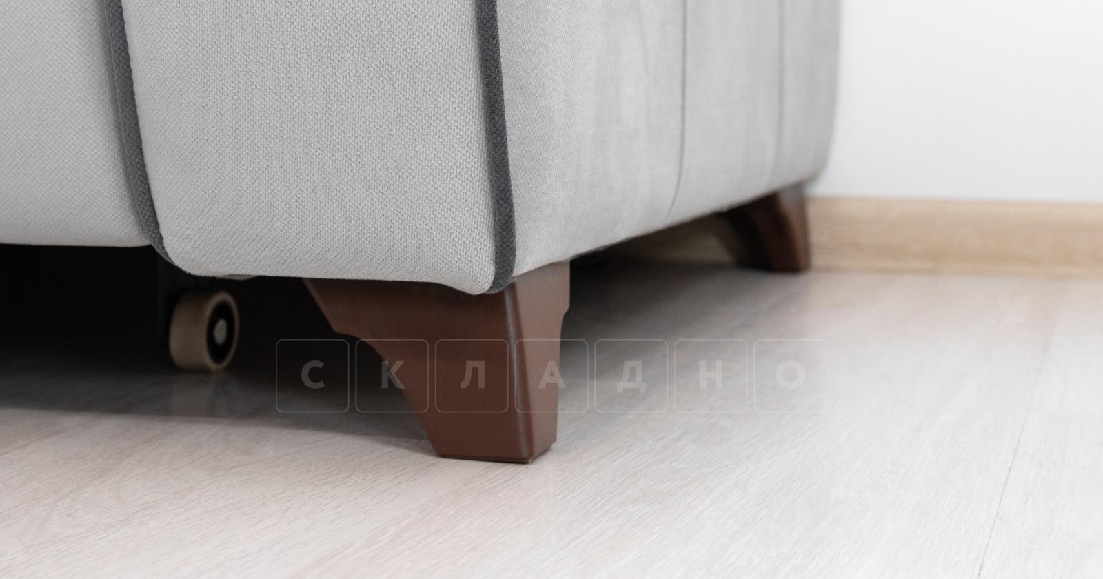 Диван-кровать угловой Флэтфорд светло-серый фото 14 | интернет-магазин Складно